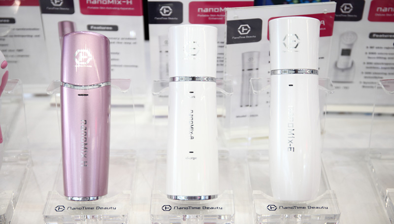 why there is nanomix-H, nanomix-A, nanomix-E cosmetics mist sprayer
