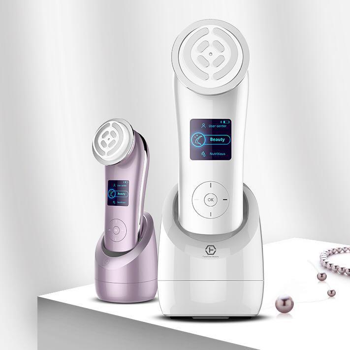 Japan Technology beauty device nanoskin RF face lifting and rejuvenating device